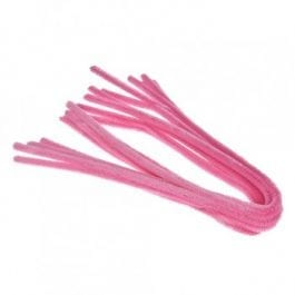 Efco Pipe Cleaners 8mm/50cm Light Pink Pk 10