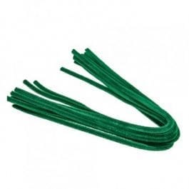Efco Pipe Cleaners 8mm/50cm Green Pk 10