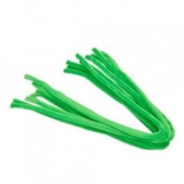 Efco Pipe Cleaners 8mm/50cm Light Green Pk 10
