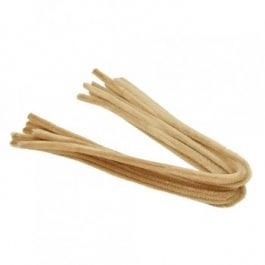 Efco Pipe Cleaners 8mm/50cm Light Brown Pk 10