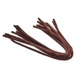 Efco Pipe Cleaners 8mm/50cm Brown Pk 10