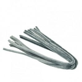 Efco Pipe Cleaners 8mm/50cm Grey Pk 10
