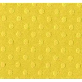 Bazzill 12″ x 12″ Dotted Embossed 216gsm Card – Butter