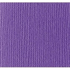 Bazzill 12″ x 12″ Texture Canvas 216gsm Card – Pansy