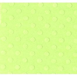 Bazzill 12″ x 12″ Dotted Embossed 216gsm Card – Celtic Green