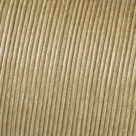 Efco Cord Cotton Waxed 1mm Natural – Roll 6m