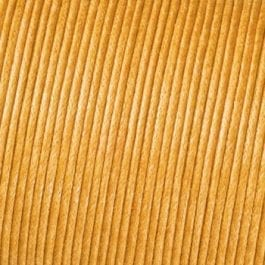 Efco Cord Cotton Waxed 1mm Yellow – Roll 6m