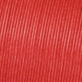 Efco Cord Cotton Waxed 1mm Red – Roll 6m