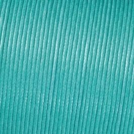 Efco Cord Cotton Waxed 1mm Light Turquoise – Roll 6m