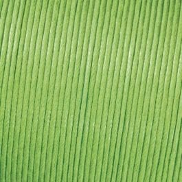 Efco Cord Cotton Waxed 1mm Light Green – Roll 6m