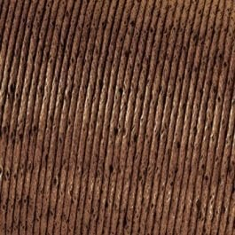 Efco Cord Cotton Waxed 1mm Brown – Roll 6m