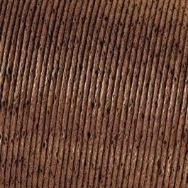 Efco Cord Cotton Waxed 2mm Brown – Roll 6m