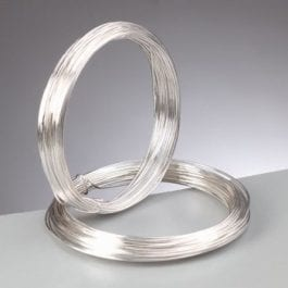 Efco Copper Wire 0.4mm Silver-Plated Roll 20m