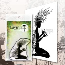 Lavinia Clear Polymer Stamp Aria