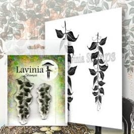 Lavinia Clear Polymer Stamp Berry Leaves