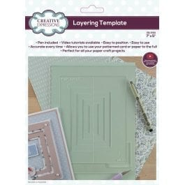 Creative Expressions Layering Template 7″ x 5″