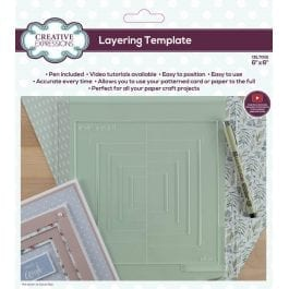 Creative Expressions Layering Template 6″ x 6″