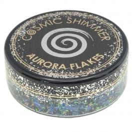 Cosmic Shimmer Aurora Flakes 50ml – Enchanted Forest