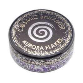 Cosmic Shimmer Aurora Flakes 50ml – Frosted Violet