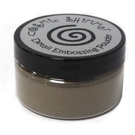 Cosmic Shimmer Detail Embossing Powder 20ml – Ancient Copper