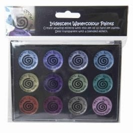 Cosmic Shimmer Iridescent Watercolour Palette Set 9 – Frosted & Chic