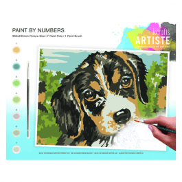 Docrafts Large Paint By Numbers – Dog