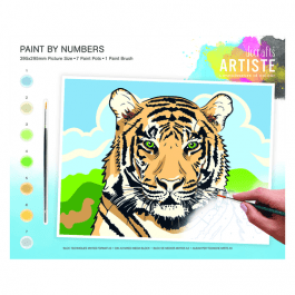 Docrafts Large Paint By Numbers – Regal Tiger