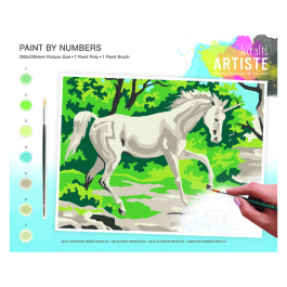 Docrafts Large Paint By Numbers – Mystical Unicorn
