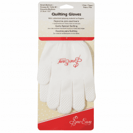Sew Easy Quilting Gloves Small/Medium length 21.5cm/8.5ins