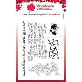 Woodware Clear Stamp 6″ x 4″ Additions