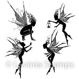 Lavinia Clear Polymer Stamp Fairy Foragers