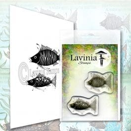 Lavinia Clear Polymer Stamp Fish Set