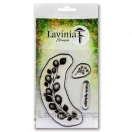 Lavinia Clear Polymer Stamp Floral Wreath