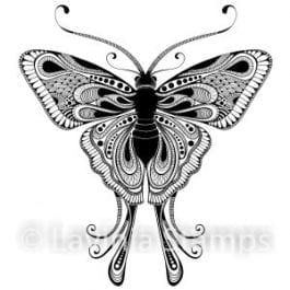 Lavinia Clear Polymer Stamp Indra