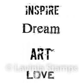 Lavinia Clear Polymer Stamp Inspire Me