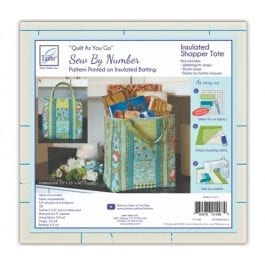 June Tailor Quilt As You Go Insulated Shoppers Tote Bag