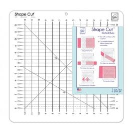June Tailor Shape Cut Slotted Ruler 12in x 12in