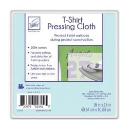 June Tailor T-Shirt Pressing Cloth 16in x 16in/40.5 x 40.5cm