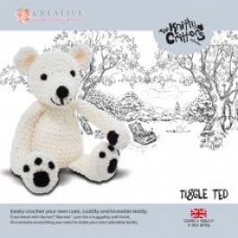 CWOC Knitty Critters Crochet Kit Tiggle Ted