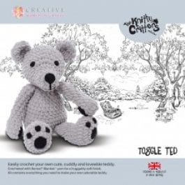 CWOC Knitty Critters Crochet Kit Toggle Ted