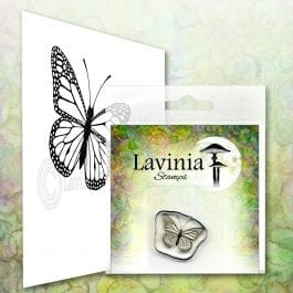 Lavinia Clear Polymer Stamp Mini Flutter