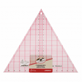 Sew Easy Patchwork Ruler 60 Degree Triangle 12in x 13in
