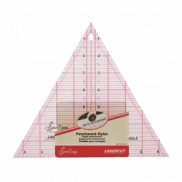 Sew Easy Patchwork Ruler 60 Degree Triangle 8in x 9.25in