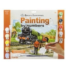 Royal & Langnickel Adult Large Painting By Numbers – Steam Train