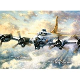Royal & Langnickel Adult Large Painting By Numbers – Flying Fortress