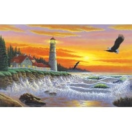 Royal & Langnickel Adult Large Painting By Numbers – Guiding Light