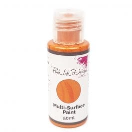 Pink Ink Multi Surface Paint 50ml – Spiced Pumpkin Shimmer