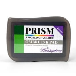 Hunkydory Prism Ombre Ink Pad – Greens