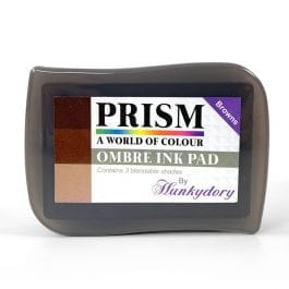 Hunkydory Prism Ombre Ink Pad – Browns