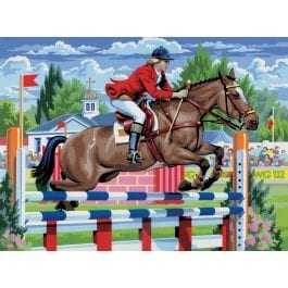 Royal & Langnickel Junior Large Painting By Numbers – Showjumping